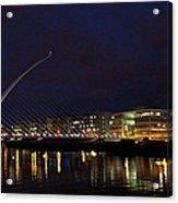 Sean Ocasey Bridge, Dublin Acrylic Print