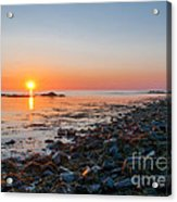 Seapoint Beach In  Kittery Point Maine Acrylic Print