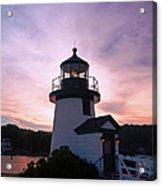 Seaport Nightlight Acrylic Print