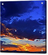 Searching The Painted Sky Acrylic Print