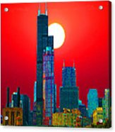 Sears Tower Willis Tower Chicago Acrylic Print