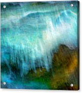 Seascape #20 - Touching Your Hand Acrylic Print