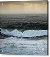 Seascape 3b The Sound  Acrylic Print