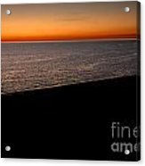 Seascape At Dawn Acrylic Print