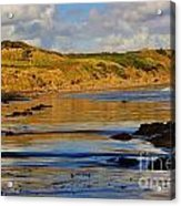 Seascape At Phillip Island Acrylic Print