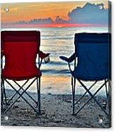 Seascape Serenity Acrylic Print