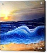 Seascape Wave Acrylic Print