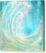 Seascapes Abstract Art - Mesmerized Acrylic Print