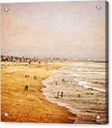 Seashore At Manhattan Beach Acrylic Print