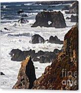 Seaside Color Acrylic Print