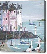 Seaside Houses Acrylic Print