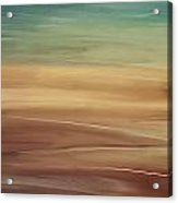 Seaside Acrylic Print by Lourry Legarde