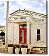 Seaside Post Office Acrylic Print
