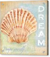 Seaside Retreat-d Acrylic Print