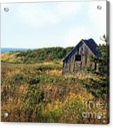 Seaside Shed - September Acrylic Print