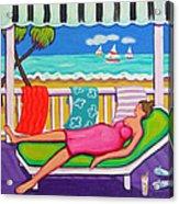 Seaside Siesta Acrylic Print