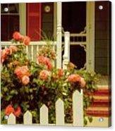 Seaside Victorian Cottage Acrylic Print