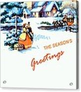 Season Greetings Acrylic Print