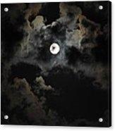 Seasonal Blue Moon II Acrylic Print