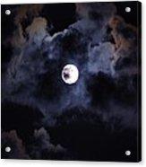 Seasonal Blue Moon IIi Acrylic Print