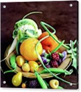 Seasonal Fruit And Vegetables Acrylic Print