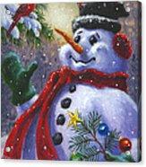 Seasons Greetings Acrylic Print