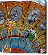 Seaswings At Santa Cruz Beach Boardwalk California 5d23906 Acrylic Print