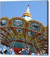 Seaswings At Santa Cruz Beach Boardwalk California 5d23907 Acrylic Print