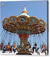 Seaswings At Santa Cruz Beach Boardwalk California 5d23911 Acrylic Print