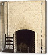 Seat By The Hearth Acrylic Print by Margie Hurwich