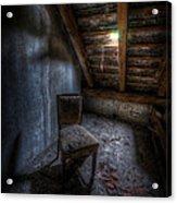 Seat In Darkenss Acrylic Print