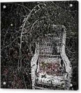 Seat With A View Acrylic Print