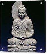 Seated Buddha Acrylic Print