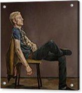 Seated Man Acrylic Print