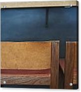 Seats At The Bar Acrylic Print