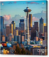 Seattle Afternoon Acrylic Print