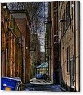 Seattle Alleyway Acrylic Print