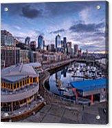 Seattle Bell Street Pier Acrylic Print