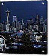 Seattle Blues Acrylic Print