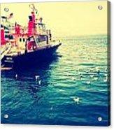 Seattle Boat Acrylic Print