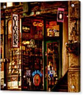 Seattle Cigar Shop Acrylic Print