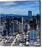 Seattle City Acrylic Print
