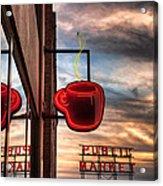 Seattle Coffee Acrylic Print