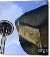 Seattle Emp Building 4 Acrylic Print