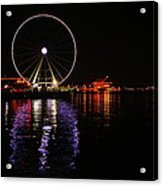 Seattle Ferris Wheel  Acrylic Print
