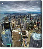 Seattle From Above Acrylic Print