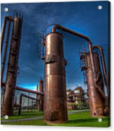Seattle Gas Works Park Acrylic Print