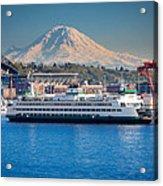 Seattle Harbor Acrylic Print