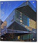 Seattle Library Acrylic Print