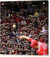 Seattle Mariners V Los Angeles Angels Acrylic Print